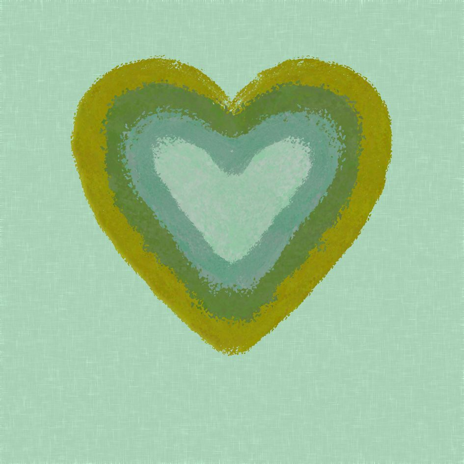 Green Heart by Tina Oloyede